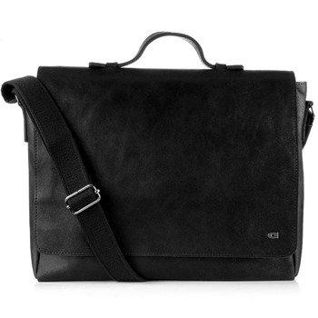 DAAG Jazzy Smash 77 skórzana torba na ramię unisex czarna