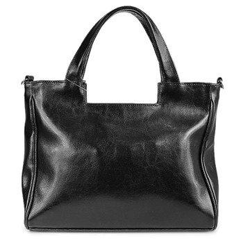 DAN-A T245 czarna torebka skórzana damska kuferek