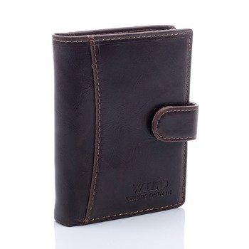 Elegancki portfel męski brązowy GA51