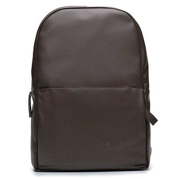 e7289e694 Męski plecak miejski na laptopa Solier SR01 FORRES ciemny brąz