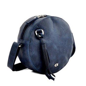 Skórzana torebka listonoszka granatowa DAAG FUNKY GO! 28