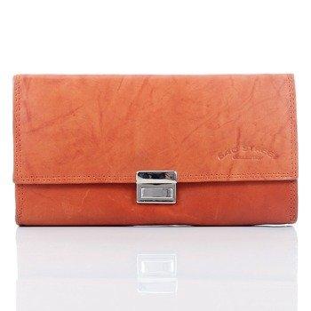 Skórzany portfel kelnerski pomarańczowy GA101