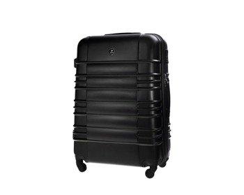 0a2d67dcb1f04 Średnia walizka podróżna STL838 czarna
