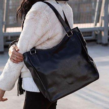 Shopper bag duże torebki miejskie   sklep
