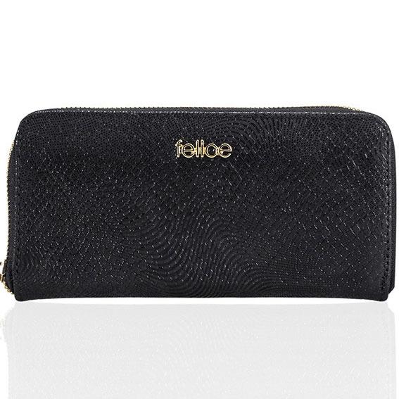 Skórzany portfel damski kopertówka P05