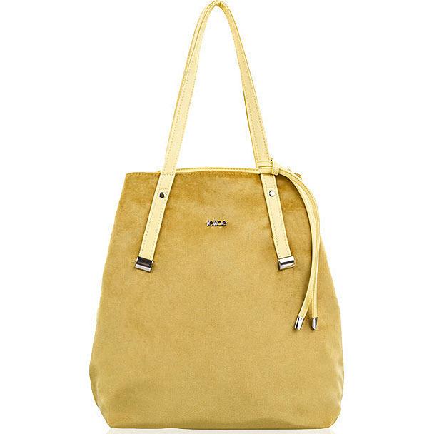 Torba damska shopper Felice Rica FB06 żółta
