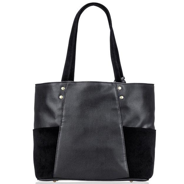Torebka damska shopper Felice Bonita FB03 czarna
