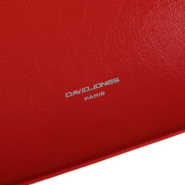 Torebka damska czerwona David Jones CM6043 RED