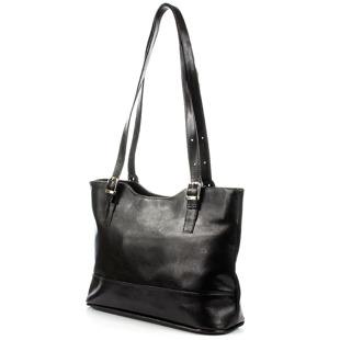 Czarna torebka damska skórzana DAN-A T299