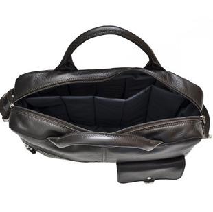 DAAG Human 35 brązowa torba skórzana do ręki, na ramię i laptopa unisex