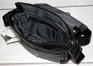 DAAG Human 37 torba skórzana na ramię unisex czarna