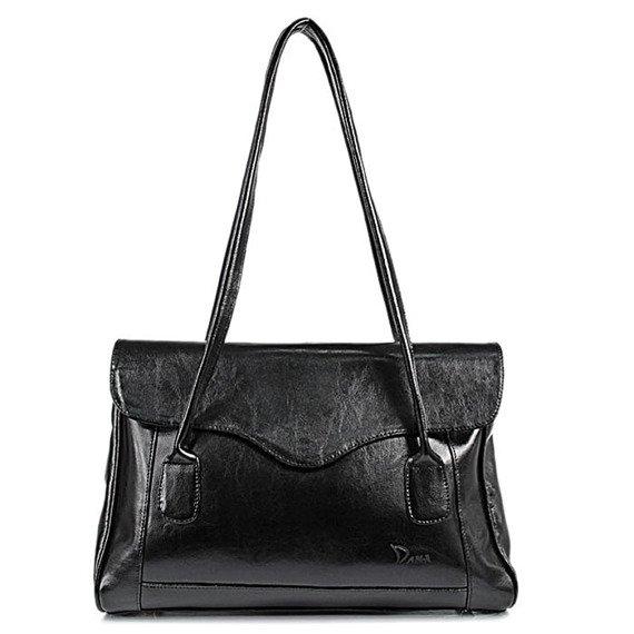 DAN-A T41 czarna torebka skórzana damska