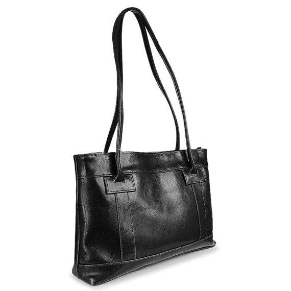 DAN-A T75 czarna torebka skórzana damska