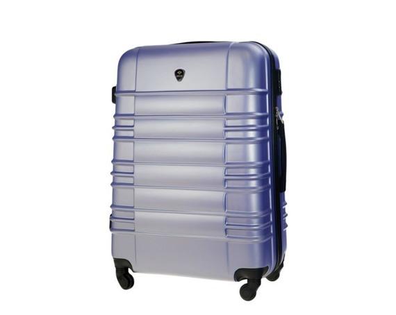 Duża walizka podróżna STL838 lawendowa