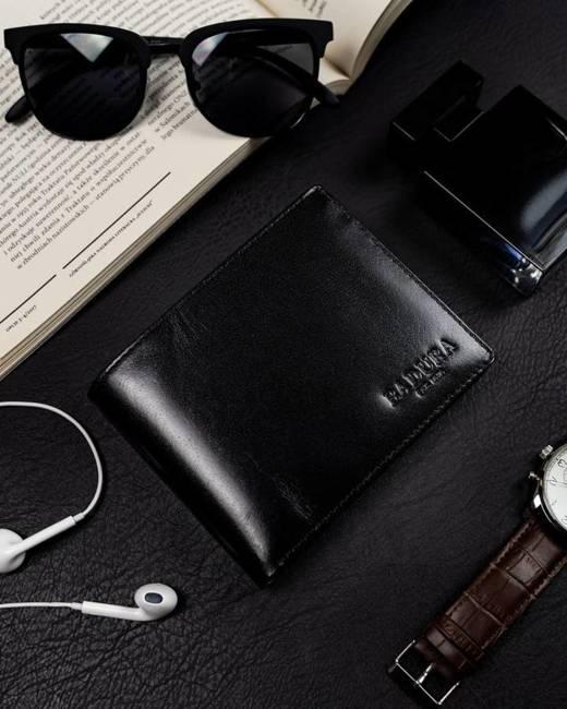 Duży portfel męski czarny Badura PO_M071CZ_CE