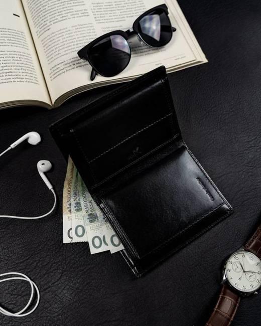 Duży portfel męski czarny Badura PO_M080CZ_CE