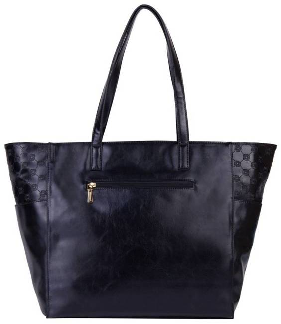 Duży shopper czarny Monnari BAG1800-020