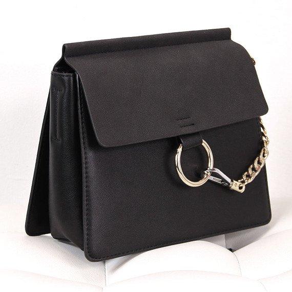Elegancka torebka damska czarna
