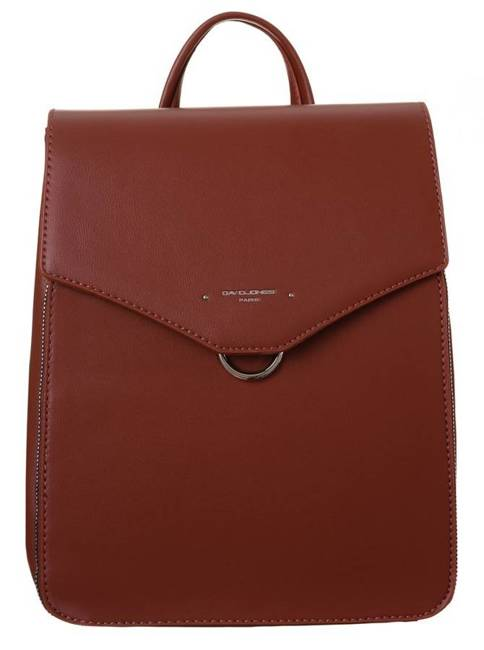 Elegancki plecak damski brązowy David Jones 6507-2 SIENA