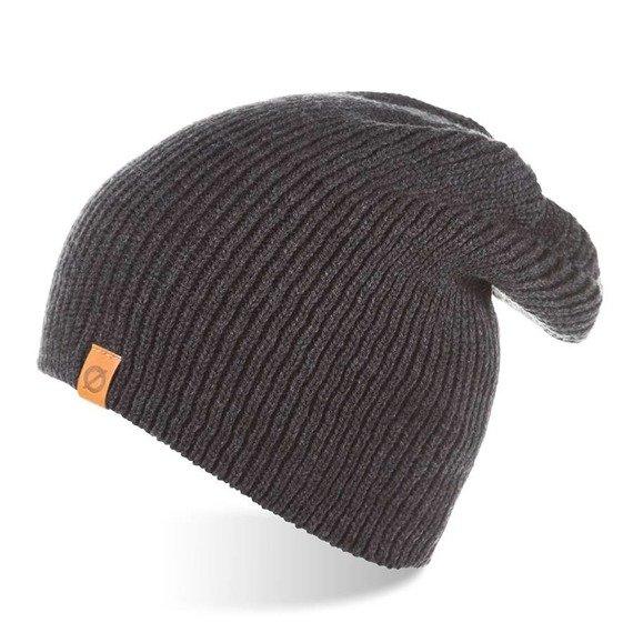 Jesienna czapka męska smerfetka Brodrene CZ7 ciemnoszara