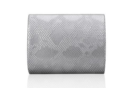 Kopertówka damska Felice F14 snake silver