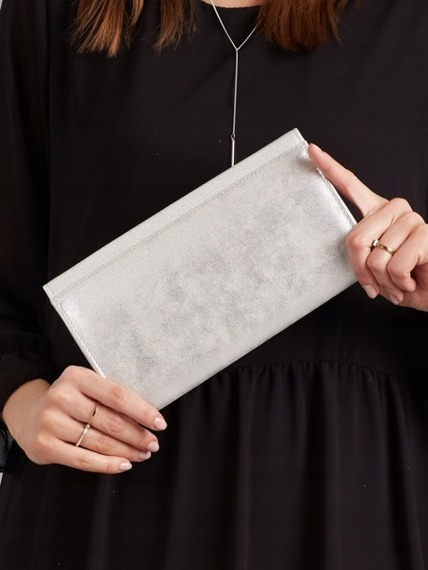Kopertówka wizytowa srebrna Rovicky W35