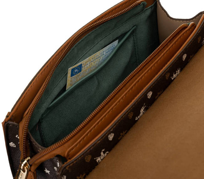 Kuferek brązowo-beżowy David Jones CM6123 D.BROWN BEIGE