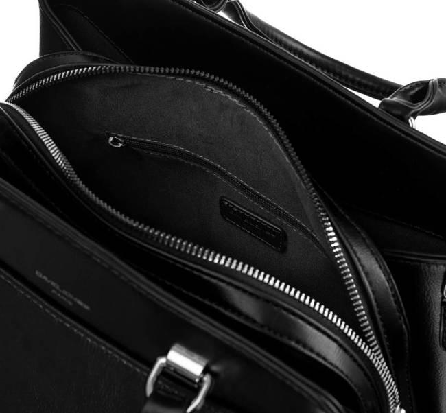 Kuferek czarny David Jones 6601-2 BLACK
