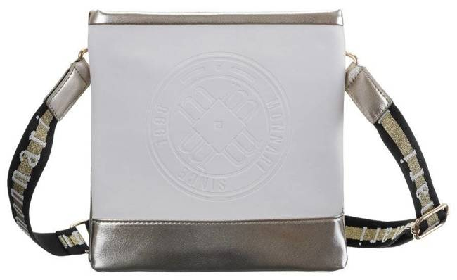 Kwadratowa listonoszka złoto-ecru Monnari BAG0050-023 JZ20
