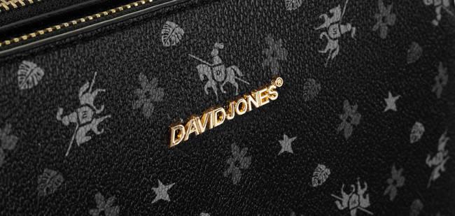 Listonoszka czarna David Jones CM6121 BLACK