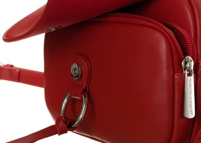 Listonoszka damska czerwona David Jones 6277-1 RED