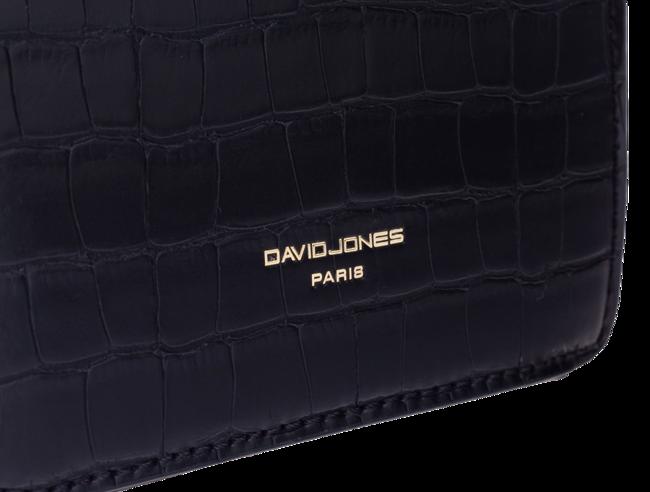 Listonoszka damska eko krokodyl David Jones żółta CM5668