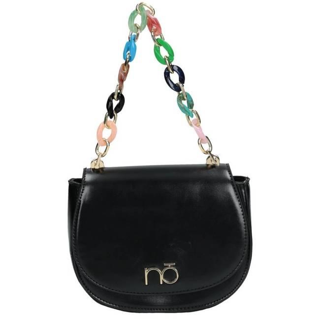 Listonoszka damska torebka podkowa Nobo czarna 4620