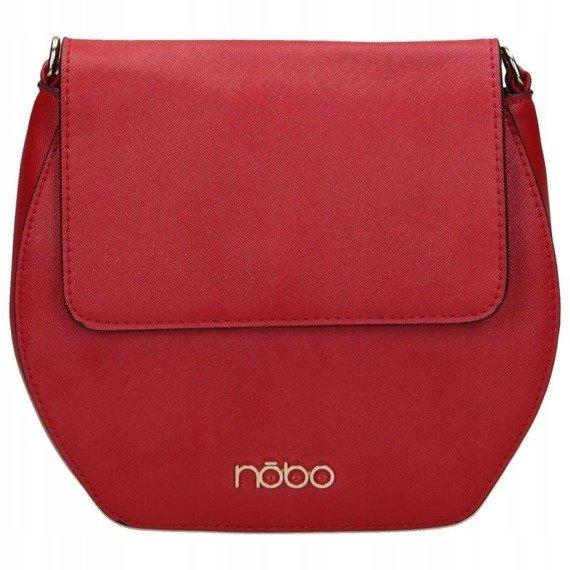 Listonoszka geometryczna z klapką NOBO 2340 czerwona