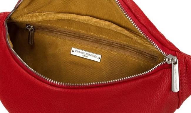 Listonoszka nerka czerwona David Jones CM5766 RED