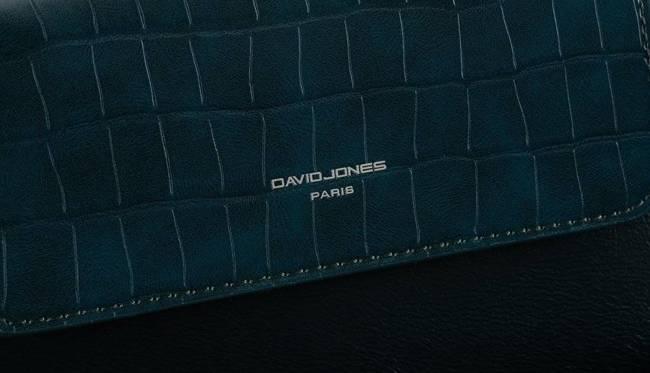 Listonoszka niebieska David Jones CM6210 PEACOCK BLUE