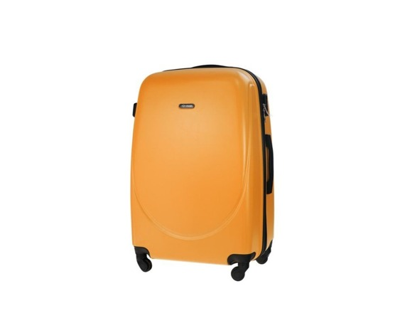 Mała walizka kabinowa 55x35x22cm ABS STL856 pomarańczowa