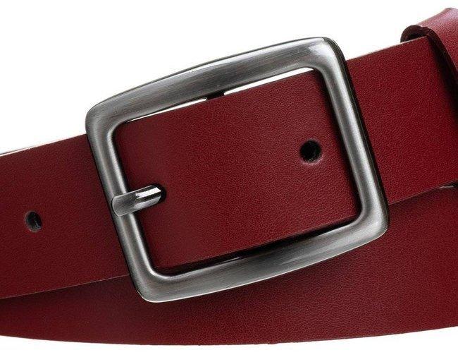 Pasek damski czerwony PD-NL-3-105