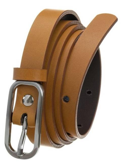 Pasek damski kamelowy PD-NL-1,5-105