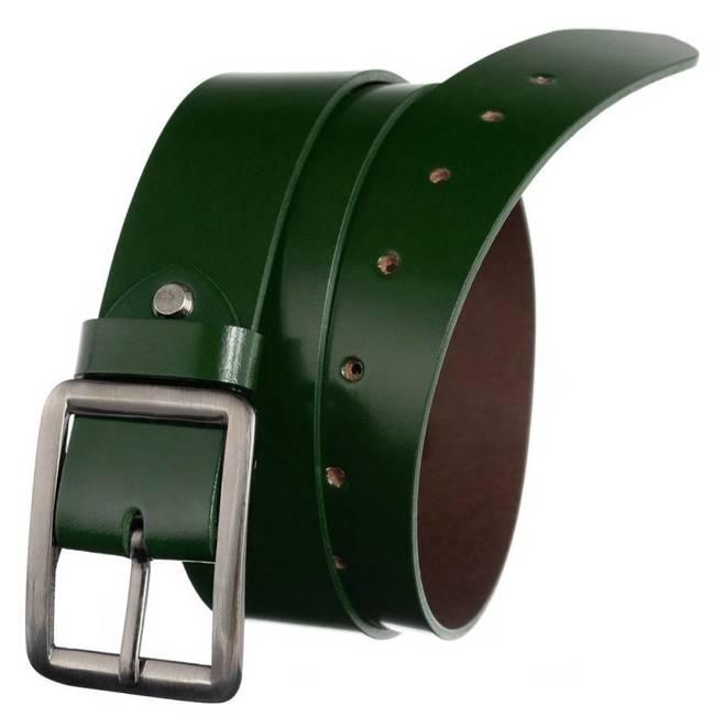 Pasek damski szeroki zielony Badura PBD-4-A-105-8600 GRE