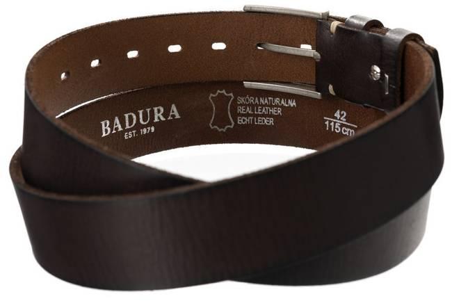 Pasek męski brązowy Badura PBJ-04-C 105 cm