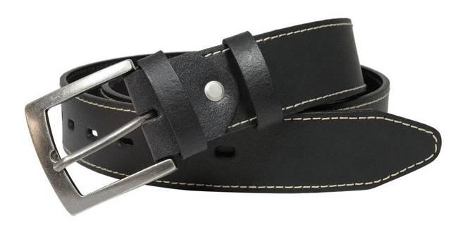 Pasek męski czarny Rovicky PMR-4P 105