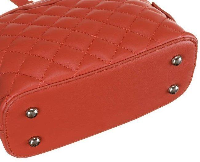 Pikowana listonoszka czerwona David Jones CM6029 RASPBERY