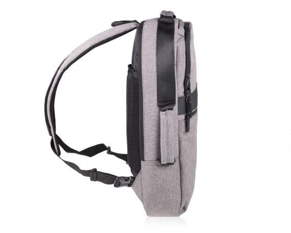 Plecak antykradzieżowy na laptopa SV07 szary