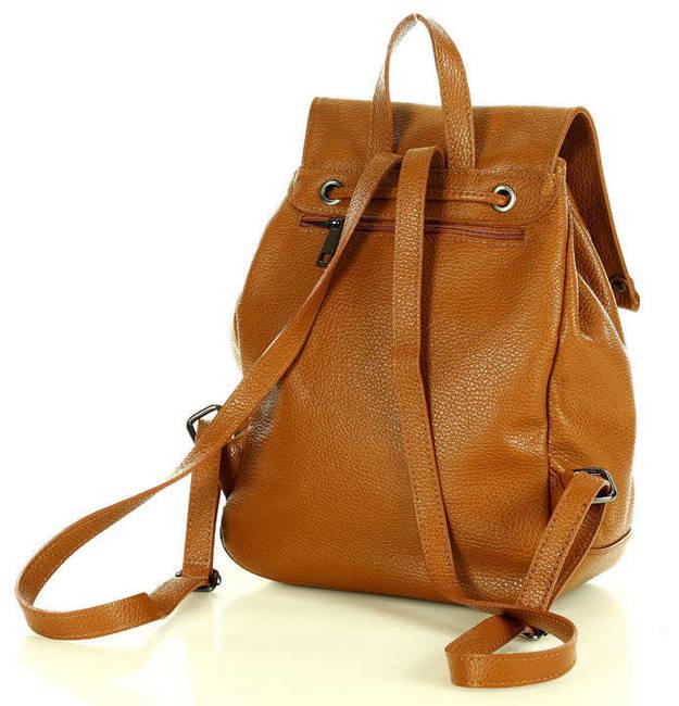 Plecak damski MARCO MAZZINI pl32d camel