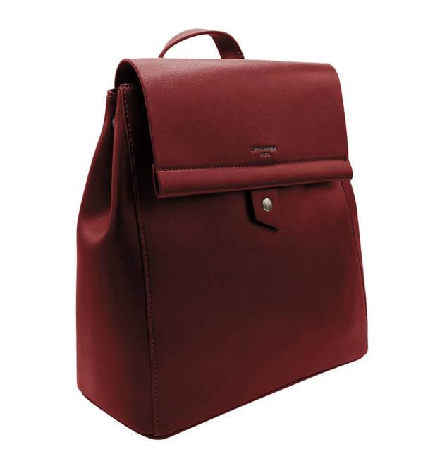 Plecak damski bordowy David Jones CM5403 BORDEAUX