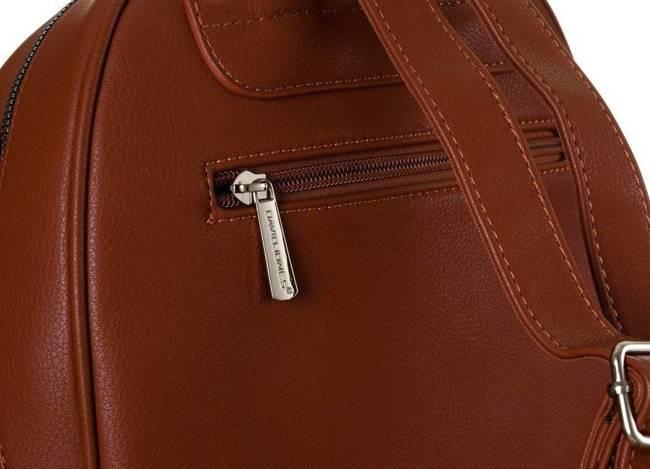 Plecak damski brązowy David Jones CM6010 CIENNA