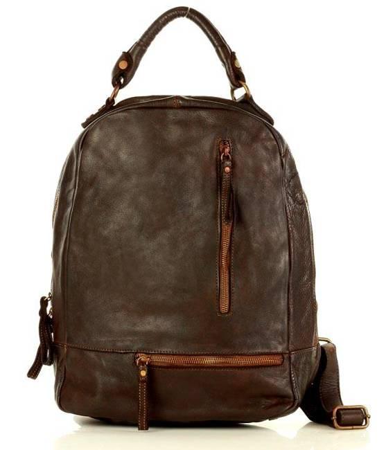 Plecak damski brązowy Marco Mazzini  v78b