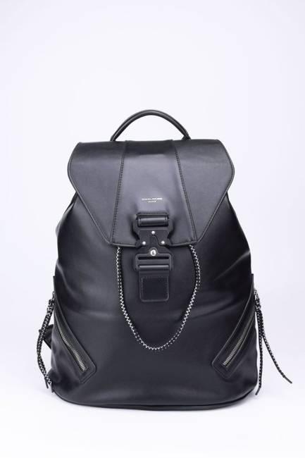 Plecak damski czarny David Jones 808803 BLACK