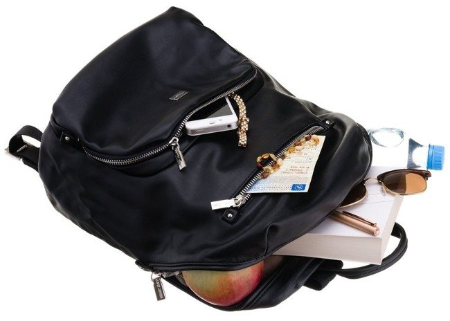 Plecak damski czarny David Jones CM3607